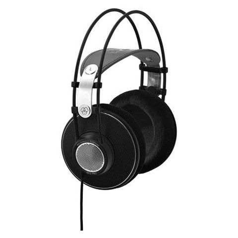 "AKG Acoustics K612 Pro Reference Studio Headphones, Patented Varimotion Diaphragm, 12-39500 Hz Frequency, 120 Ohms Impedance, 1/4"" and 1/8"" Screw-on Combo Jack  by AKG"