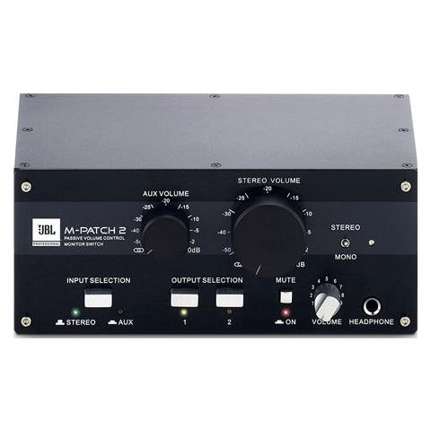 JBL M-Patch 2 Passive Stereo Controller and Switch Box  by JBL