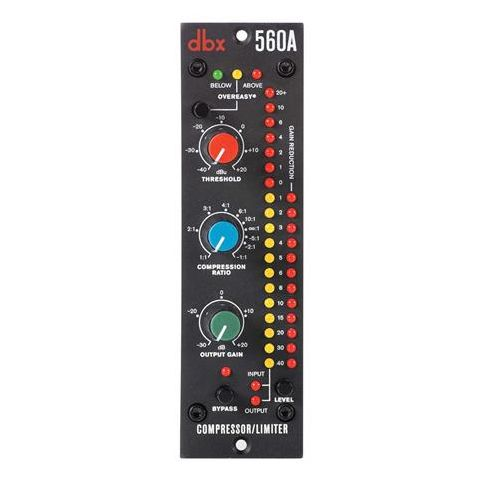 DBX  560A Compressor/Limiter, 20Hz-20kHz, 30Ohms Balanced Output Impedance   by DBX