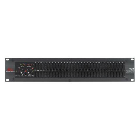 DBX  2031 Single Channel 31-Band Graphic Equalizer/Limiter with Type III Noise Reduction   by DBX