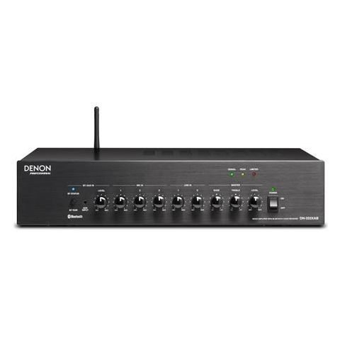 Denon  DN-333XAB 3-Mic & 2-Stereo Line Mixer Amplifier with Bluetooth Audio Receiver   by Denon