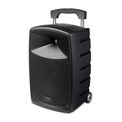 Denon  Envoi Portable Powered PA Speaker System with Wireless Handheld Microphone   by Denon