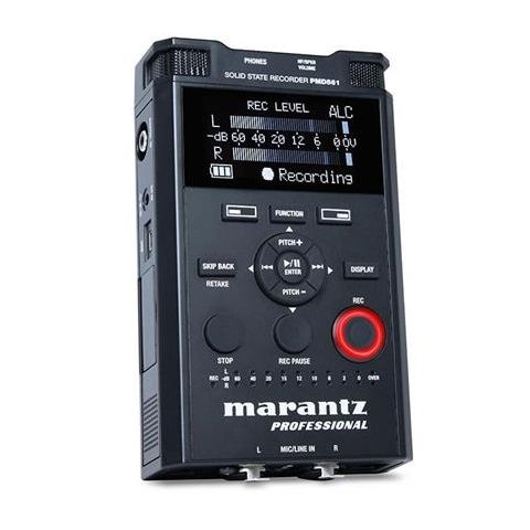 Marantz  PMD-561 Handheld 4 Channel Solid State Recorder   by Marantz