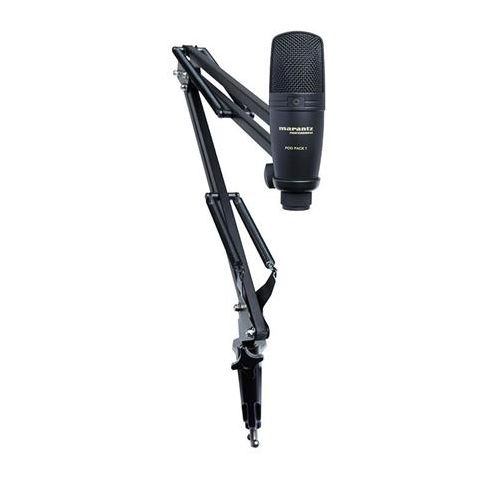 Marantz  Pod Pack 1 USB Microphone with Broadcast Stand and Cable   by Marantz