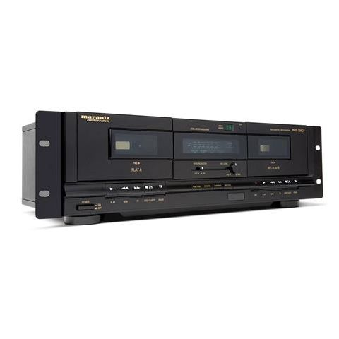Marantz  PMD-300CP Dual Deck Cassette Recorder/Player with USB PC Connection   by Marantz
