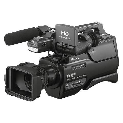"Sony  HXR-MC2500 AVCHD Shoulder Mount Camcorder, 1/4"" Exmor R CMOS HD, SD AVCHD   by Sony"