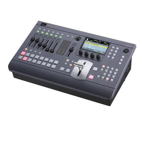Sony  MCS8M Compact Audio Video Mixing Switcher, 1280x1024 Resolution, 3D Mode Function, Preset Effects   by Sony