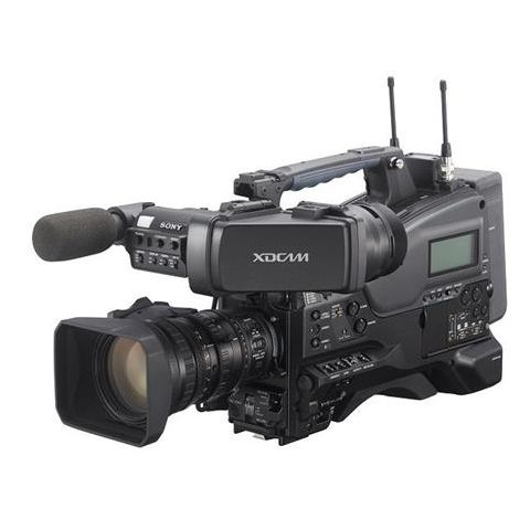 Sony  PXW-X320 Solid State Memory Camcorder with 50-Pin CBK-CE01 Camera Interface Digital Extender, Fujinon 16x Servo Zoom Lens   by Sony