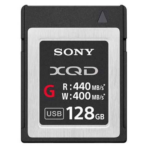Sony  G Series 128GB XQD Memory Card, 400MB/s Write Speed, 440MB/s Read Speed   by Sony