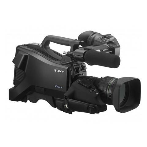 """Sony  HXC-FB75 SD/HD Studio Camera with HDVF-L10 3.5"""" QHD Color LCD Viewfinder, Monaural Microphone and ENG HD 20x Zoom Lens   by Sony"""