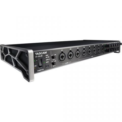Tascam US-20x20 - USB Audio Interface with Mic Preamps/Mixer by Tascam