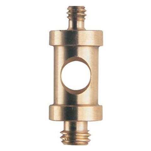 """Manfrotto 118 Male Spigot Mounting Adapter, 1/4""""x20 Male Thread and 3/8"""" Male Thread, 26mm Long. (#3107)  by Manfrotto"""