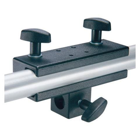 "Manfrotto 271 Panel Clamp w/5/8"" socket, attaches to round or square tubes (#2974)  by Manfrotto"