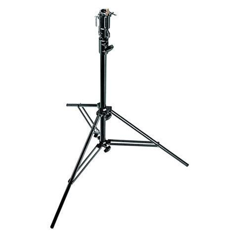 Manfrotto 6' Two Section Air Cushioned Aluminum Cine Stand with Leveling Leg, Black  by Manfrotto