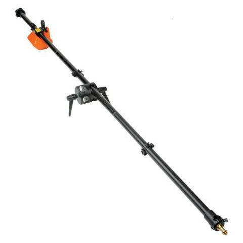 """Manfrotto 3 Piece Boom Assembly (Black Anodized) w/10 lb. Counterweight, 6'8"""" Long (#3385)  by Manfrotto"""