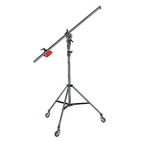 Manfrotto Black Heavy Duty 3-Section Boom with 3071 Stand (#085B)  by Manfrotto