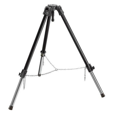 Manfrotto 132XNB Heavy Duty Video Tripod, Supports 66 lbs.  by Manfrotto