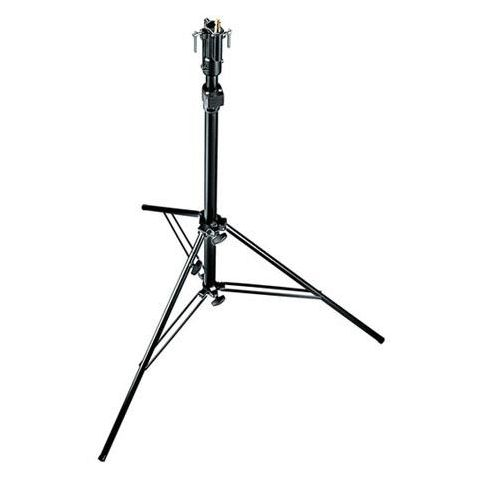 Manfrotto 10.5' Self Locking, Air Damped Lightstand, 2 Section, Black Anodized. (#3343B)  by Manfrotto