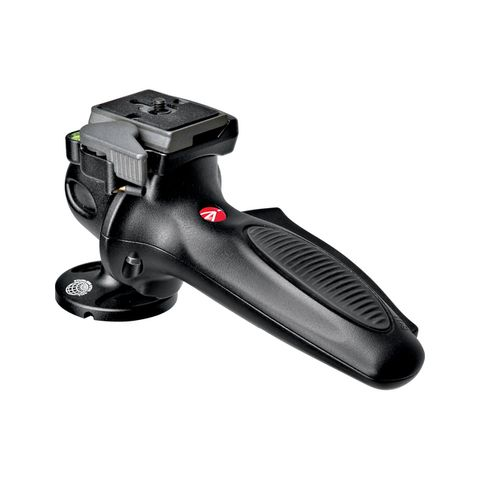 Manfrotto 327RC2 Lightweight Magnesium Body Joystick Head with Quick Release, Supports 12.1 lb., Black  by Manfrotto