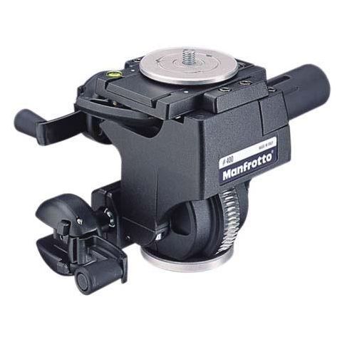 Manfrotto 400 Deluxe Geared Head with Quick Release Supports - 22.1 lbs (#3263)  by Manfrotto