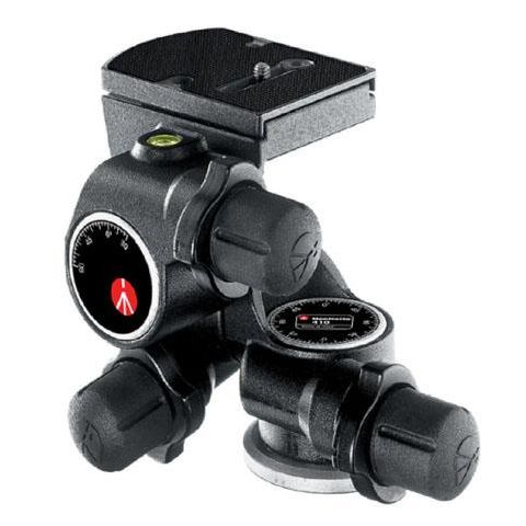 Manfrotto 410 Junior Geared Head with Quick Release - Supports 11.1 lbs (#3275)  by Manfrotto