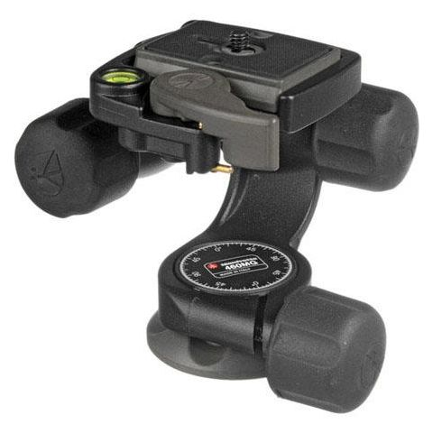 Manfrotto 460MG 3D Magnesium Head with Quick Release - Supports 6.60 lb (#3437)  by Manfrotto