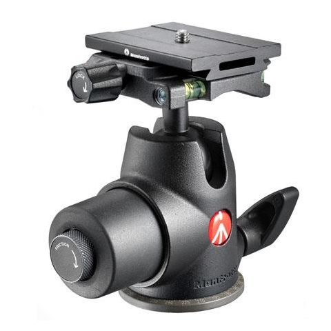 Manfrotto 468MGQ6 Hydrostatic Ball Head with Q6 Top Lock Quick Release - 35 lbs Load Capacity  by Manfrotto