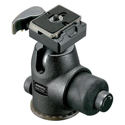 Manfrotto 468MGRC2 Hydrostatic Ball Head with RC2 Rapid Connect System, Supports 22 lbs  by Manfrotto
