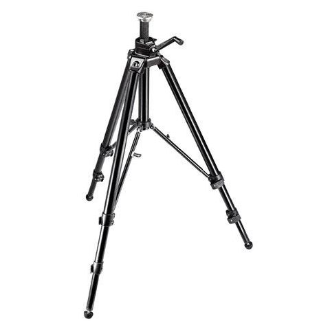 """Manfrotto 475B (3236) Digital Pro Geared Black Tripod Legs (Height 16.6-74"""", Maximum Load 26.50 lbs)  by Manfrotto"""