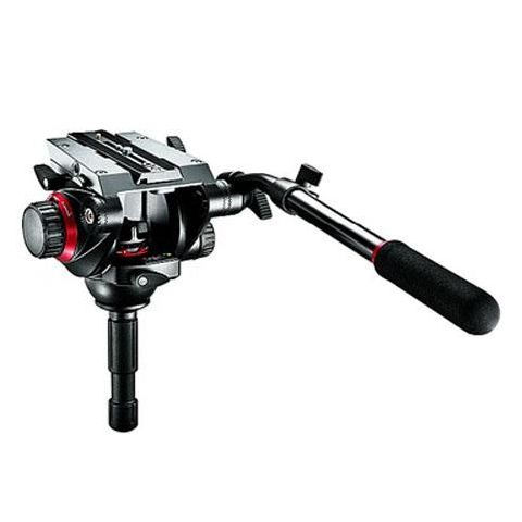 Manfrotto 504HD Video Fluid Quick Release Head, Supports 19 lbs.  by Manfrotto