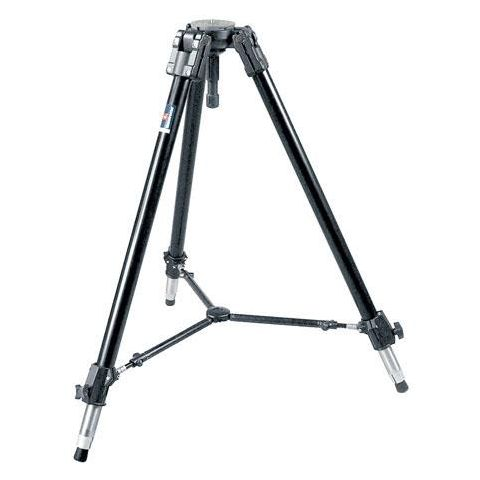 Manfrotto 528XB Heavy Duty Video / Movie Tripod with 100mm Ball, Color: Black, Supports 66 lbs.  by Manfrotto
