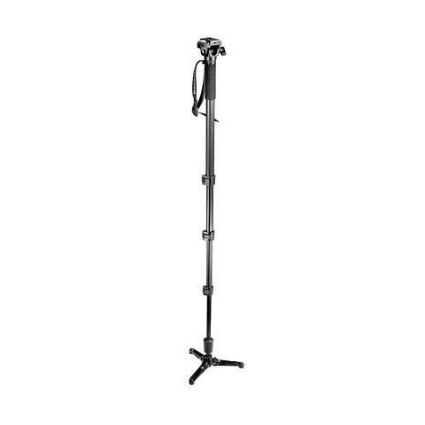 Manfrotto 560B Four Section Fluid Monopod with 234RC Tilt Top Head  by Manfrotto