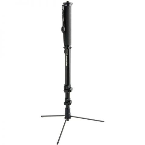 Manfrotto 682B Self-Standing Pro Monopod, Black Anodized  by Manfrotto