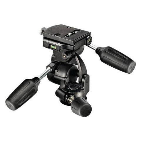 Manfrotto 808RC4 3-Way Pan/Tilt Head with Quick Release - Supports 17.6 lbs  by Manfrotto