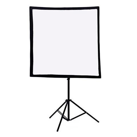 Bowens Lumiair 100x100cm Softbox with Rear Cowell, Front Diffuser, Internal Diffuser, Support Rods & Carry Case  by Bowens