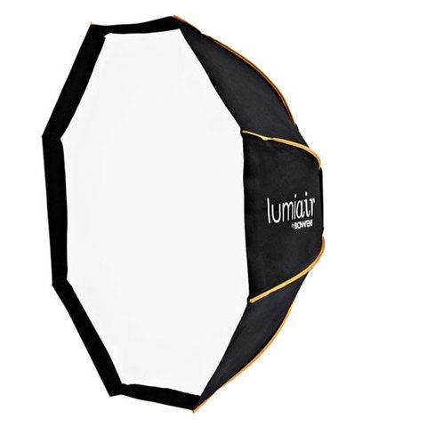 Bowens Lumiair Octobank 90 Softbox with Rear Cowell, Front Diffuser, Internal Diffuser, Support Rods & Carry Case  by Bowens