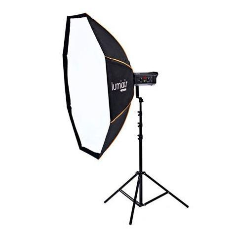 Bowens Lumiair Octobank 140 Softbox with Rear Cowell, Front Diffuser, Internal Diffuser, Support Rods & Carry Case  by Bowens