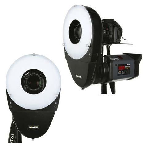 Bowens Lightweight and Portable Ringlite Converter for Monolights & Flash Heads with S-Type Mount.  by Bowens