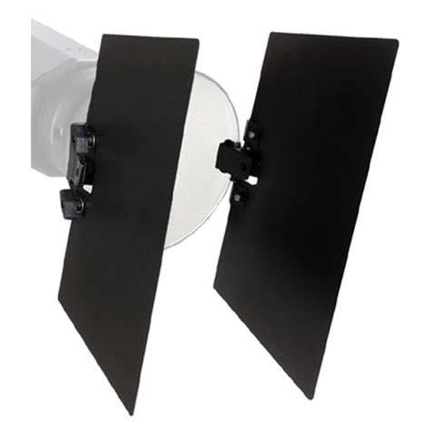 "Bowens Universal 2 Leaf Clip-on Barndoors for all 7"" to 10"" Standard Reflectors  by Bowens"