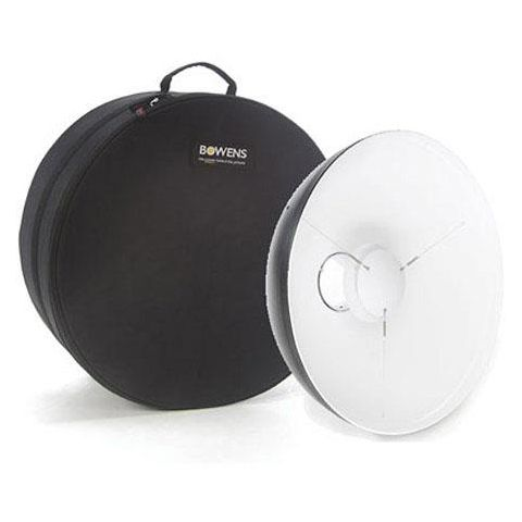"Bowens 21"" White Beauty Dish & Case, White  by Bowens"