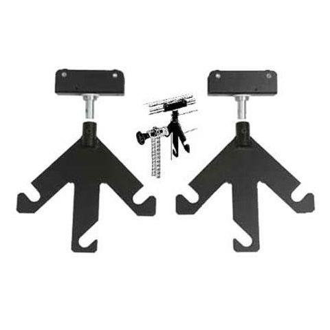 Bowens 3 Hook Background Paper Carrier for the Hi Glide Rail System, One Pair.  by Bowens