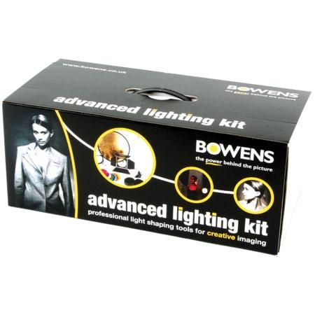 Bowens Advanced Lighting Accessory Kit With Softbox Reflectors