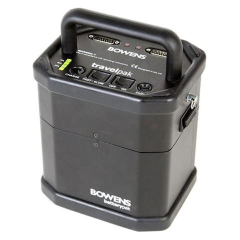 Bowens Large TravelPak System, Includes Control Panel, Large BatteryPak and Carry Case with Shoulder Strap  by Bowens