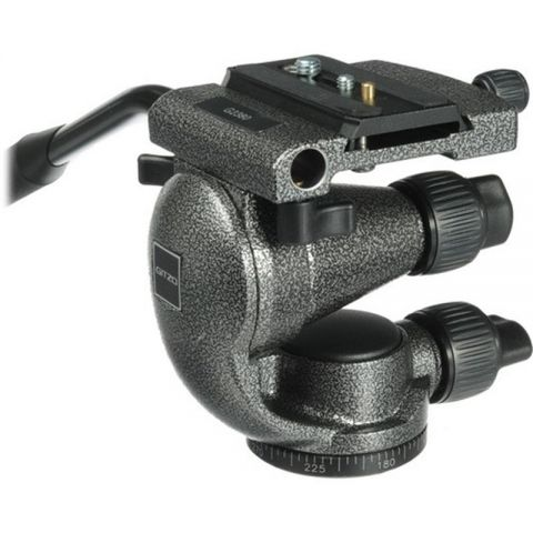 Gitzo G2380 Video Fluid Head w/Quick Release, Supports up to 11 lbs  by Gitzo