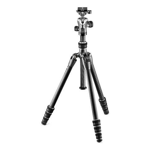 Gitzo GK0545T-82TQD Series 0 Traveler Tripod - 4 Section - with GH1382TQD Quick Release Center Ball Head  by Gitzo
