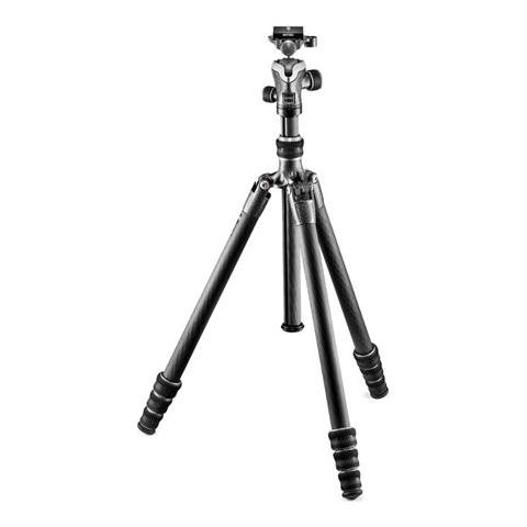 Gitzo GK1545T-82TQD Series 1 Traveler Tripod - 4 Section - with GH1382TQD Quick Release Center Ball Head  by Gitzo