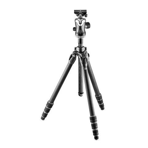 "Gitzo Mountaineer Series 2 GT2542 Carbon Fiber Tripod with GH3382QD Center Ball Head, 70.9"" Maximum Height  by Gitzo"