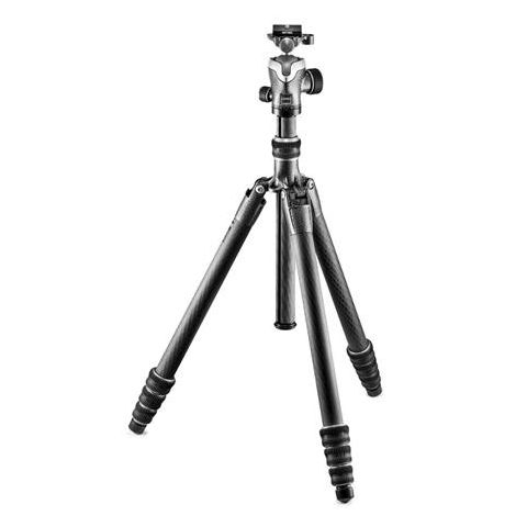 Gitzo GK2545T-82QD Series 1 Traveler Tripod - 4 Section - with GH1382QD Quick Release Center Ball Head  by Gitzo