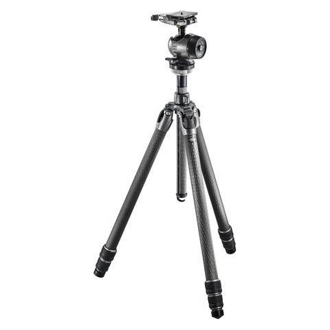 Gitzo GK3532-80QD Mountaineer Series 3 Carbon Fiber 3 Sections Tripod Kit, Includes Centre Ball Head, Arca-Swiss Style Plate, 46.30lbs Load Capacity  by Gitzo