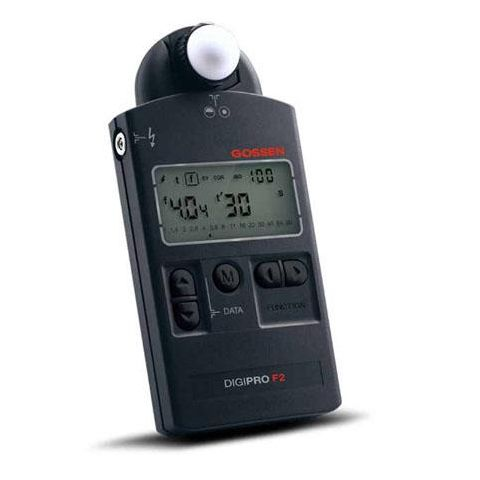Gossen Digipro F2 Light Meter, f/1 to f/90 9/10 Aperture stops  by Gossen